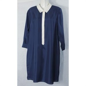 Vineyard Vines Silk Shirt Dress NWT